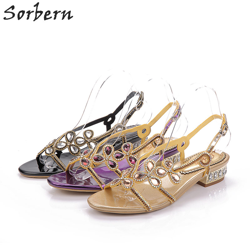 Здесь продается  Rome Crystal Flat With Adult Sandals Fashion Rhinestone 2017 New Women Sandals Shoes Chaussures Femme 2.5CM Zapatos Mujer  Обувь