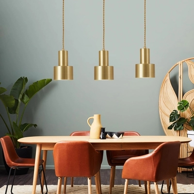 Nordic Gold bronze pendant light postmodern minimalist lamp light pendant lamps antique lamp lights metal cord pendant lightingNordic Gold bronze pendant light postmodern minimalist lamp light pendant lamps antique lamp lights metal cord pendant lighting