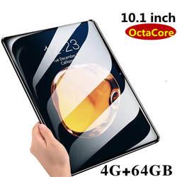2019 новый 10,1 дюймов 3g 4G LTE планшетный ПК Восьмиядерный 4 Гб ОЗУ 64 Гб ПЗУ 1920*1280 ips 2.5D Закаленное стекло 10 планшетов Android 8,0 + подарки