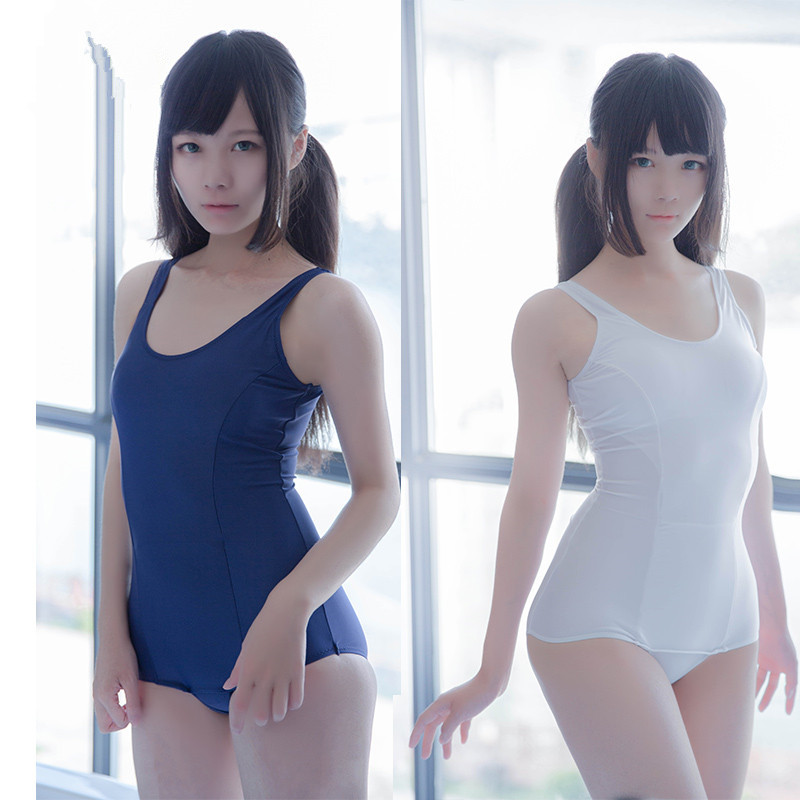 Japanese school swimsuit one-piece swimsuit Conservative bikini