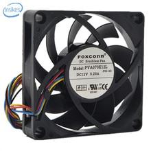 Controle de Velocidade PWM PVA070E12L CPU Cooling Fan DC 12 V 0.2A 2800 RPM 7015 70*70*15mm 4 Fios