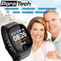 GPS WIFI GSM Smartphone Uhr für Ältere Kind Smart Uhr mit Hören Rate Fallen Alarm SOS Helfen Armband Ältere beste Geschenk-in Smart Watches aus Verbraucherelektronik bei