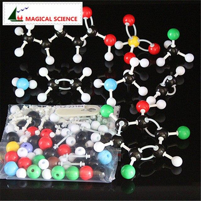 184pc molecular structure model set new organic inorganic