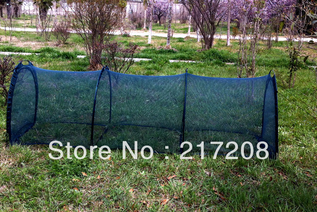 Pop Up Garden Cover Greenhouse Flower And Vegetable Net Tunnel With