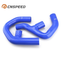 CNSPEED Blue TURBO SILICONE INTERCOOLER HOSE kit For Volkswagen 06 10 2.0T turbo mk5