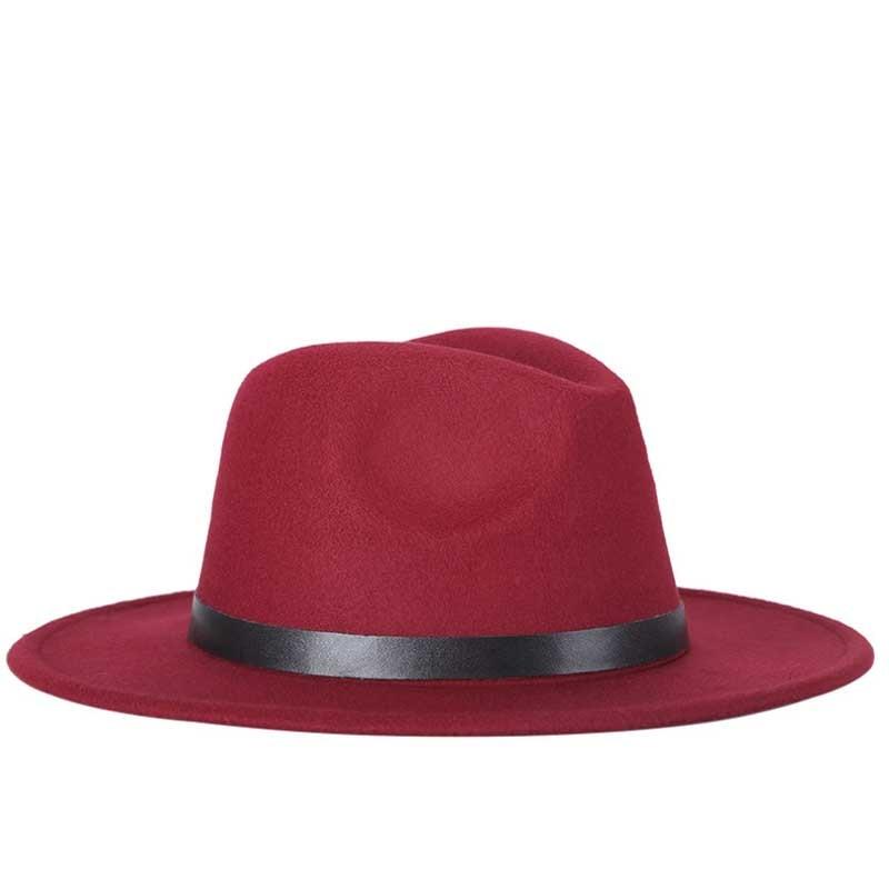 Woolen blend hat