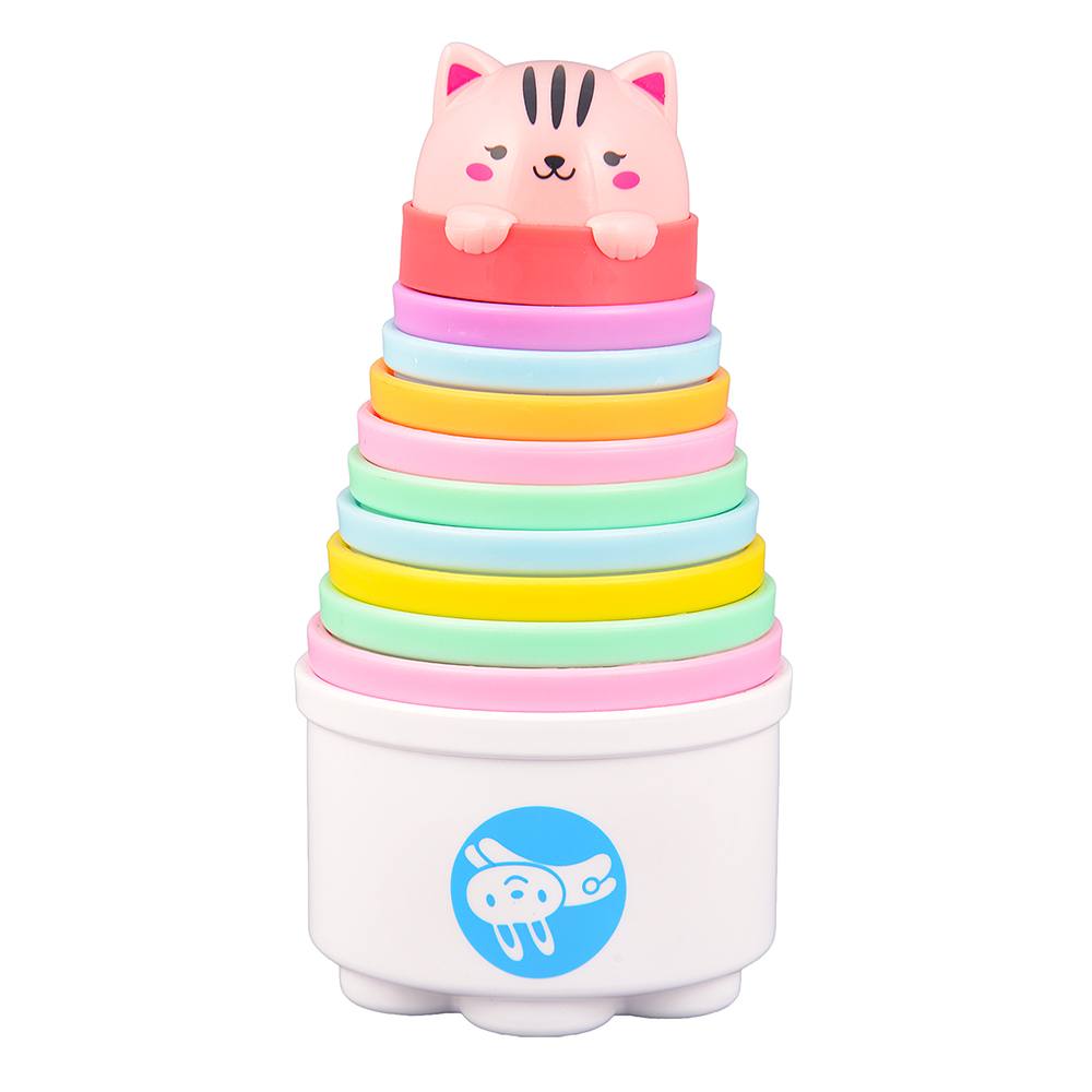 Baby Badewanne Toys R Us Us 9 92 23 Off Funny Piles Stack Cup Toys Baby Cute Rainbow Stacking Cups Tower Children Set Kids Early Educational Toy Nesting Cups In Sorting