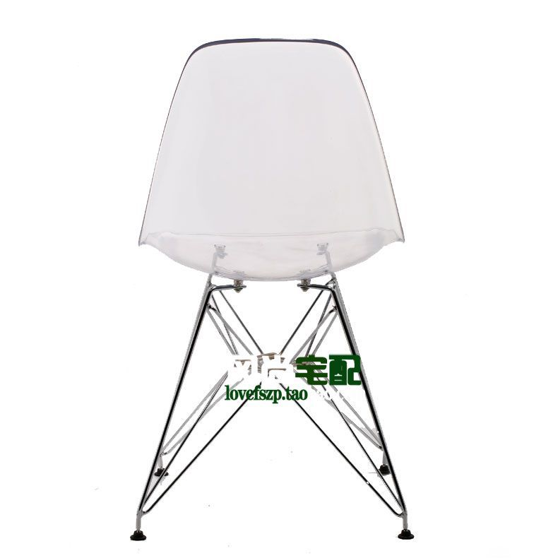 Superb Eames Chair Crystal Clear Acrylic Plastic Chairs Ikea Spiritservingveterans Wood Chair Design Ideas Spiritservingveteransorg