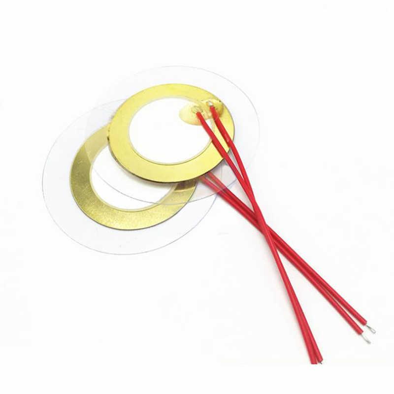 10PCS 35mm Piezo Elements Buzzer Sounder Trigger Tambour Disc
