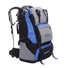 60L Camping Hiking Backpacks Outdoor Rucksack Daypack Nylon Sport Bag for Climbing Travelling Sport Packs