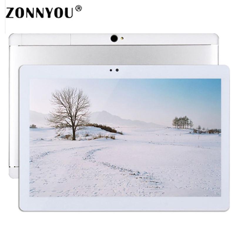 10.1 inch Tablet PC 3G Phone Call Dual SIM Card Android 6.0 Quad Core 4GB/32GB Wi-fi Bluetooth GPS Tablets PC