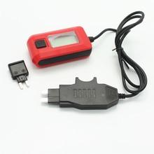 12V AE150 Авто прибор для измерения тока мультиметр с лампой комплект рабочих инструментов для ремонта автомобиля, с помощью предохранителя ди...