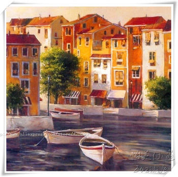 Venice oil painting italian landscape oil painting on canvas hight Quality Hand-painted Painting venice oil painting 1