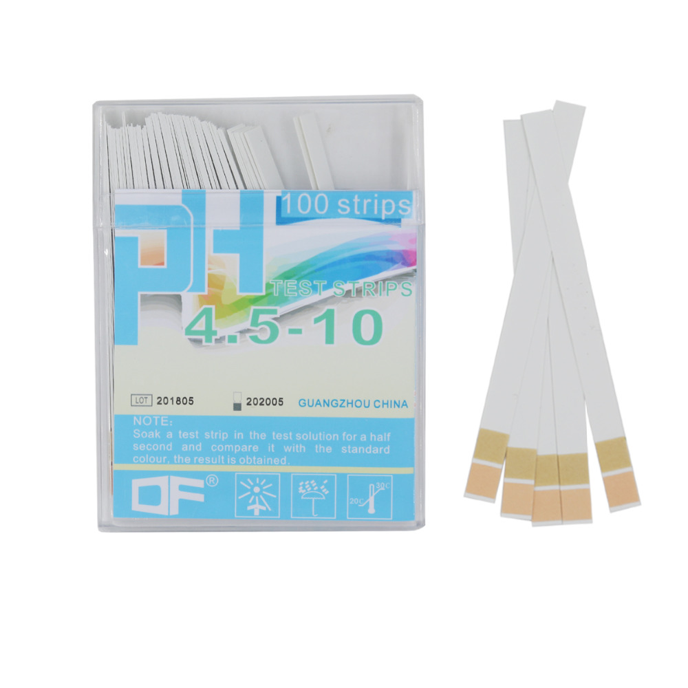 100 Strips Boxed High Precision Measure Range Of 4.5-10 PH Test Strips Indicator Paper Tester Ph Test Paper 20% Off