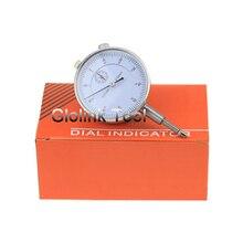 Прецизионный инструмент 0,01 мм точный измерительный прибор круглый 0-10 мм циферблат индикатор Калибр вертикальный контакт измерительный инструмент