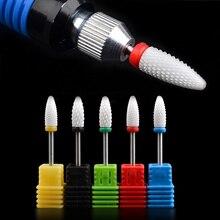1 PCS Hot Ceramic Nail Drill Bit Nail Art Tools For Electric Manicure Machine AccessoriesElectric Manicure Cutter Nail Files