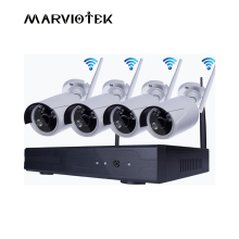 Wireless Security Camera System Outdoor CCTV Camera System wi fi 1080P ip camera wifi nvr kit 4 cameras Waterproof Kit cctv wifi