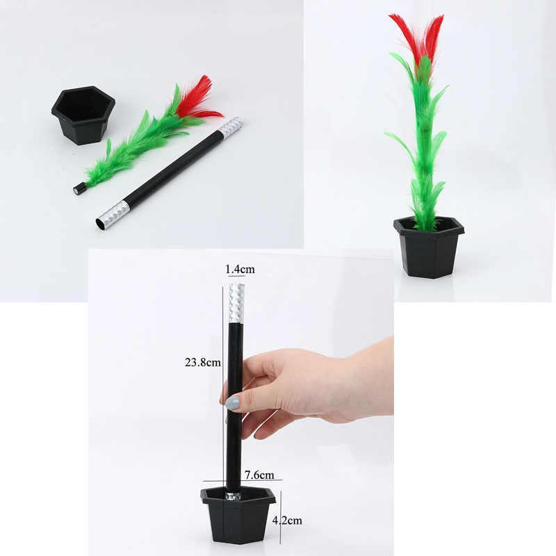7f08a68b9c0d Varita mágica para florear truco de magia fácil trucos de magia juguetes  para adultos niños prop