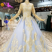 AIJINGYU Two In One Sequin Bridal Gownes Wedding Dresses