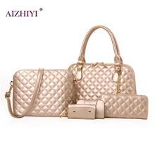 Marke 5 sätze Handtasche Frauen Composite-taschen femaleLlarge Kapazität Tote Bag Fashion Schulter Crossbody-tasche Kleine Geldbörse Karte Brieftaschen
