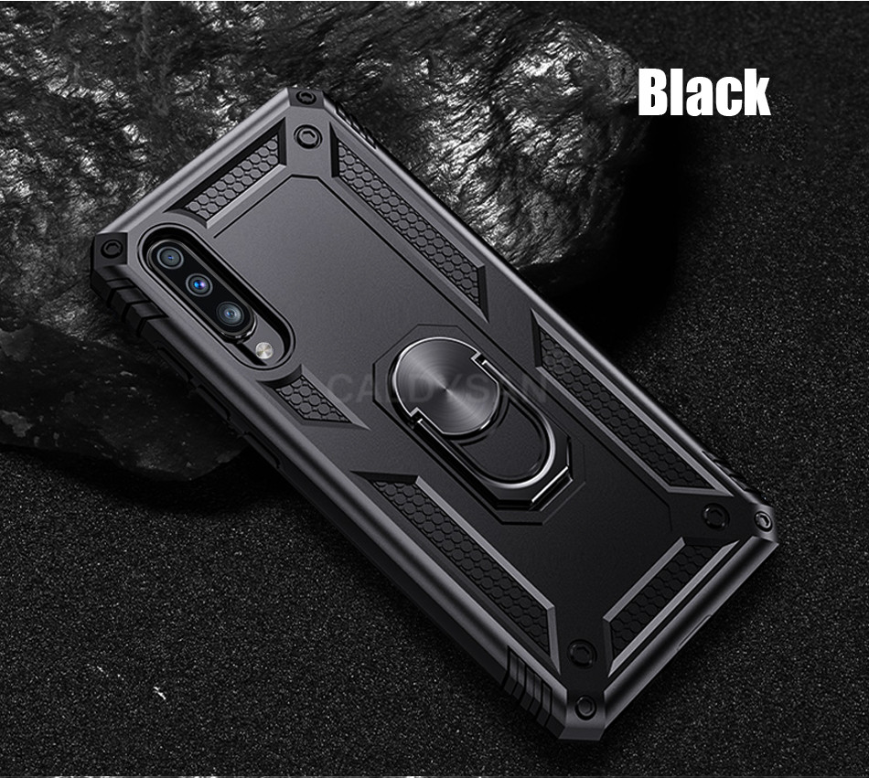 HTB1pqjoXgFY.1VjSZFqq6ydbXXar - Luxury Armor Shockproof Case For Samsung Galaxy A50 A30 A51 A71 S20 Ultra S9 S10 S8 Note 8 9 10 Plus Car Holder Ring Case Cover