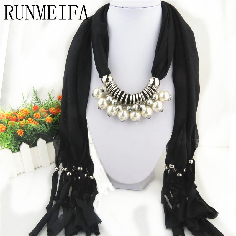 runmeifa marca nueva llegada regalo de navidad bufandas de polister de color slido de