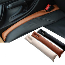 For Bmw E46 E90 E39 E60 E36 F10 F30 X3 X1 X5 E53 E70 1PC CAR SEAT GAP STOPPER STOP LEAK PROOF DROP PAD ARMREST FILLER SPACER MAT(China)
