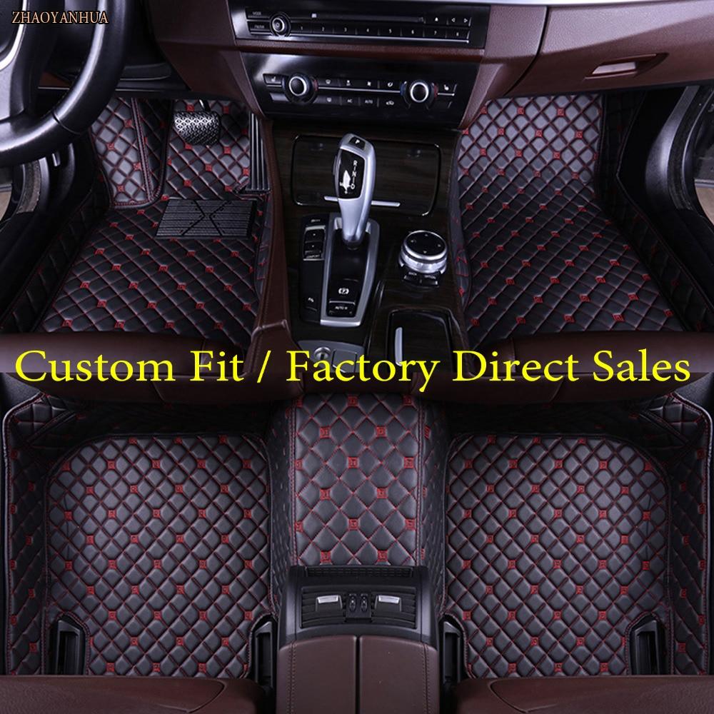 ZHAOYANHUA Car floor mats for Lexus CT200h GS ES250/350/300h RX270/350/450H GX460h/400 LX570 LS 5D car-styling carpet linersZHAOYANHUA Car floor mats for Lexus CT200h GS ES250/350/300h RX270/350/450H GX460h/400 LX570 LS 5D car-styling carpet liners