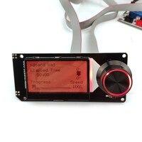 3D yazıcı aksesuarları MKS MINI12864 LCD ekran desteği marlin DIY SD kart tutucu