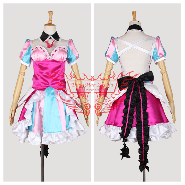 2016 Cosplay Costume Macross Delta Makina Nakajima Uniform RetailWholesale Halloween Christmas Party Any Size