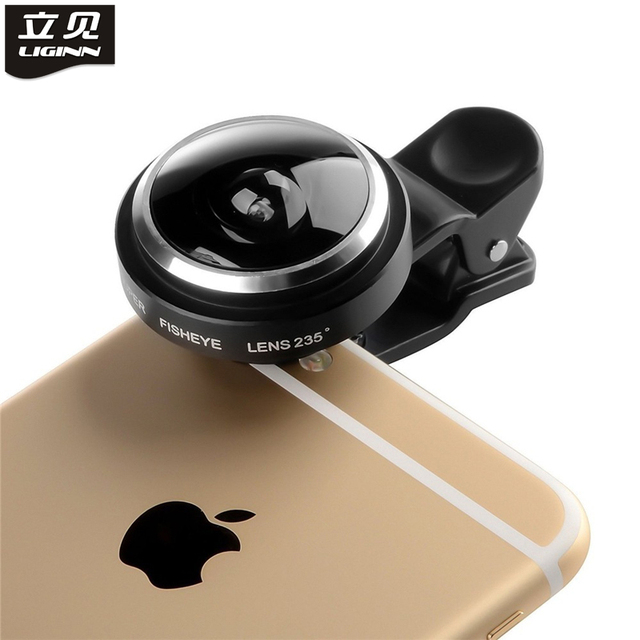 check out b5a18 aae4b Universal Clip 235 Degree Super Fish Eye Camera Fisheye For Apple iPhone 6  Plus 5S 5C 5 4S Samsung Mobile Phone Lenses-in Mobile Phone Lenses from ...