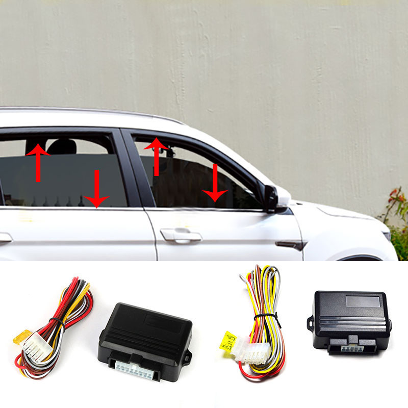DC 10V-16V Car Power Fast Window Roll Up Closer For Universal Auto Superminiature Mainframe For 2 Doors 4 Doors