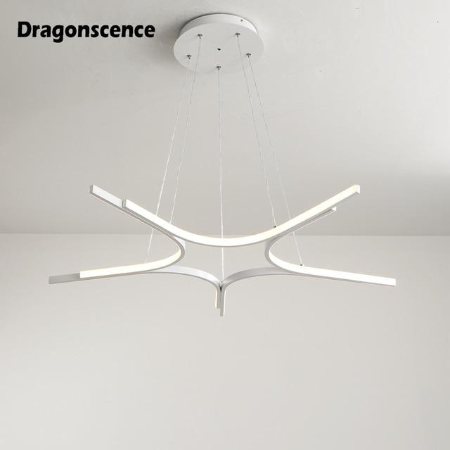 Dragonscence aluminum LED pendant light decoration Loft hanging loft pendant lamp lighting for dining office meeting room office
