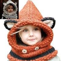2015 christmas gift lisa ucha czapka zimowa wiatroszczelna czapki szalik zestaw dla dzieci chłopcy dziewczęta zimowe czapka cap