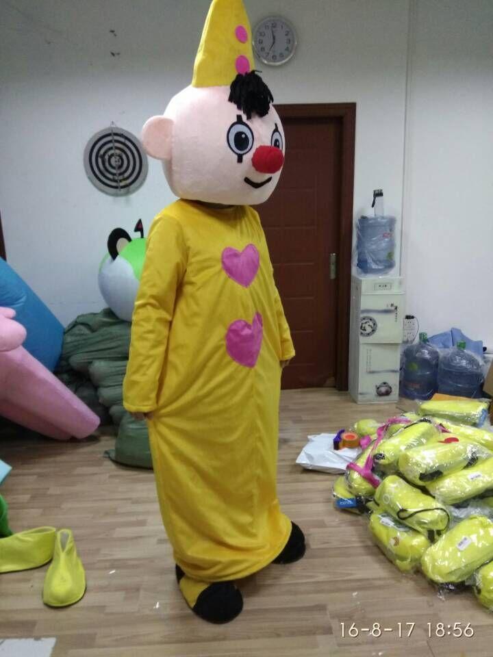ca2265fb962c0e Bumba brothers mascot kostuum Pipo clown mascot Kostuum Fancy Dress Outfit  met gratis verzending in Bumba brothers mascot kostuum Pipo clown mascot  Kostuum ...