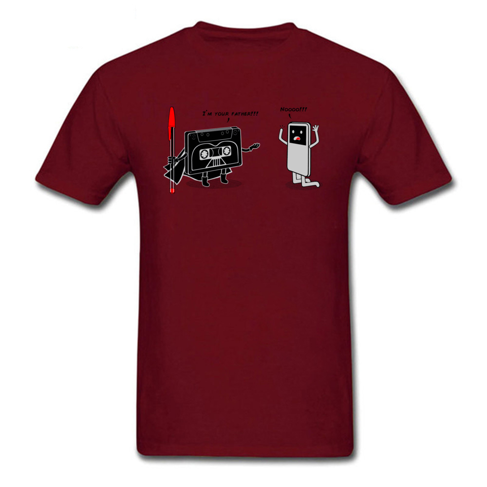 iamyoufather0621 Family T-Shirt for Men 100% Cotton Lovers Day T Shirt Summer Tshirts Short Sleeve Designer Round Collar iamyoufather0621 maroon