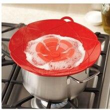 Новинка, кухонные гаджеты, силиконовая крышка, пробка для разлива, крышка для сковороды, диаметр 28,5 см, инструменты для приготовления пищи, крышки для кастрюль, посуда