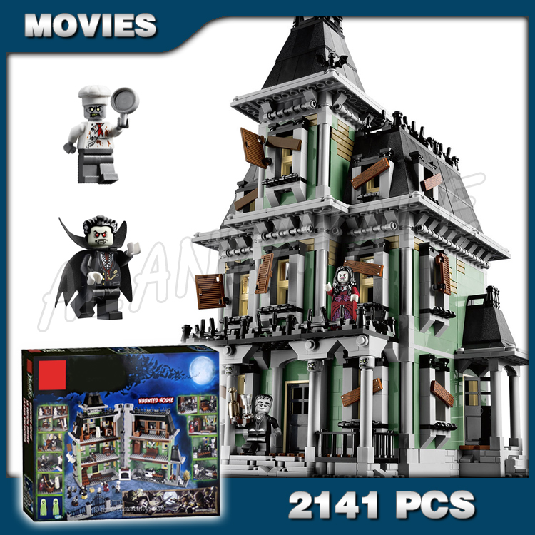 2141pcs New Monster Fighters Haunted House 16007 DIY Model Building Blocks Kit Playset Children Gifts Toys Compatible with Lego2141pcs New Monster Fighters Haunted House 16007 DIY Model Building Blocks Kit Playset Children Gifts Toys Compatible with Lego