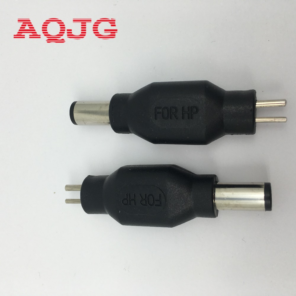 Straight New Dc 7450mm Male To 2p Female Laptop Power Adapter Charger Adaptor Acer Aspire 1148 Connector Notebook Jack Forhp Compaq Computer In Cables