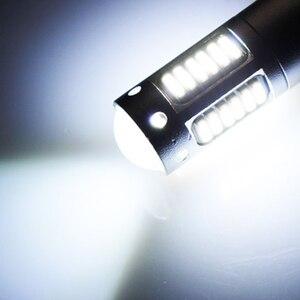 Image 5 - 2X H1 السيارات LED الضباب مصباح عالية الطاقة LED مصابيح سيارة 4014 DRL النهار تشغيل أضواء خارجية يوم القيادة سيارة الأبيض الجليد الأزرق