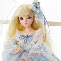 SHENGBOAO 60CM BJD Doll 18 Jointed Body SD Dolls With Clothes Shoes Wig And Makeup Girl Dolls Best Collection Gifts