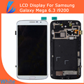 LL TRADER White LCD Display For Samsung Galaxy Mega 6.3 i9200 Touch Screen Digitizer + Bezel Frame Assembly Replacement Tool