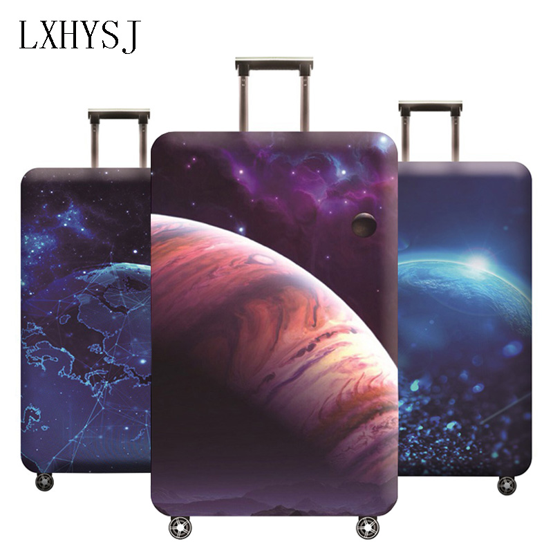 LXHYSJ Travel Elasticity Luggage Protective Covers Suitable For 18-32 Inches Trolley Suitcase Case Dust Cover Travel Accessories