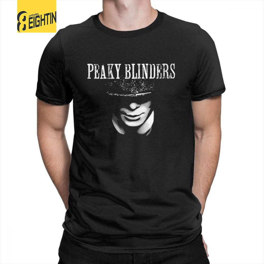Peaky Blinders   T  -  Shirt   Men O-Neck 100% Cotton Tees Summer Short Sleeves 2018 Fashion Comfortable Clothing   T     Shirt   Plus Size