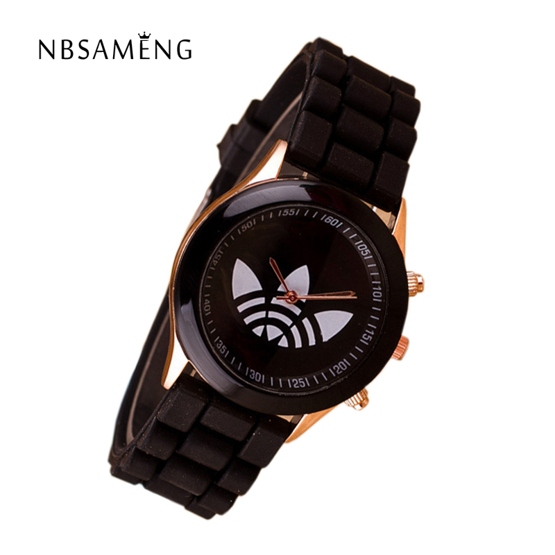 13 colors quartz ladies dress watches female males sports casual wristwatch silicone band clocks 2016 new
