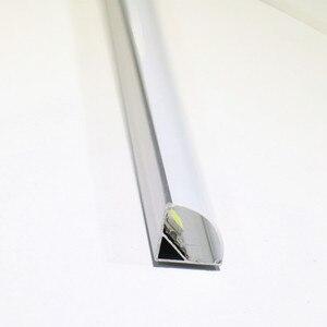 Image 4 - Profilé en aluminium pour bande led, 10 20 pièces, DHL1m, pcb 10mm, 5050, 5630, boîtier en aluminium, canal avec couvercle et clips