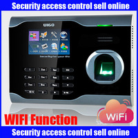 WIFI U160 Biometric Fingerprint Time attendance,TCP/IP time clock Time Recorder with USB