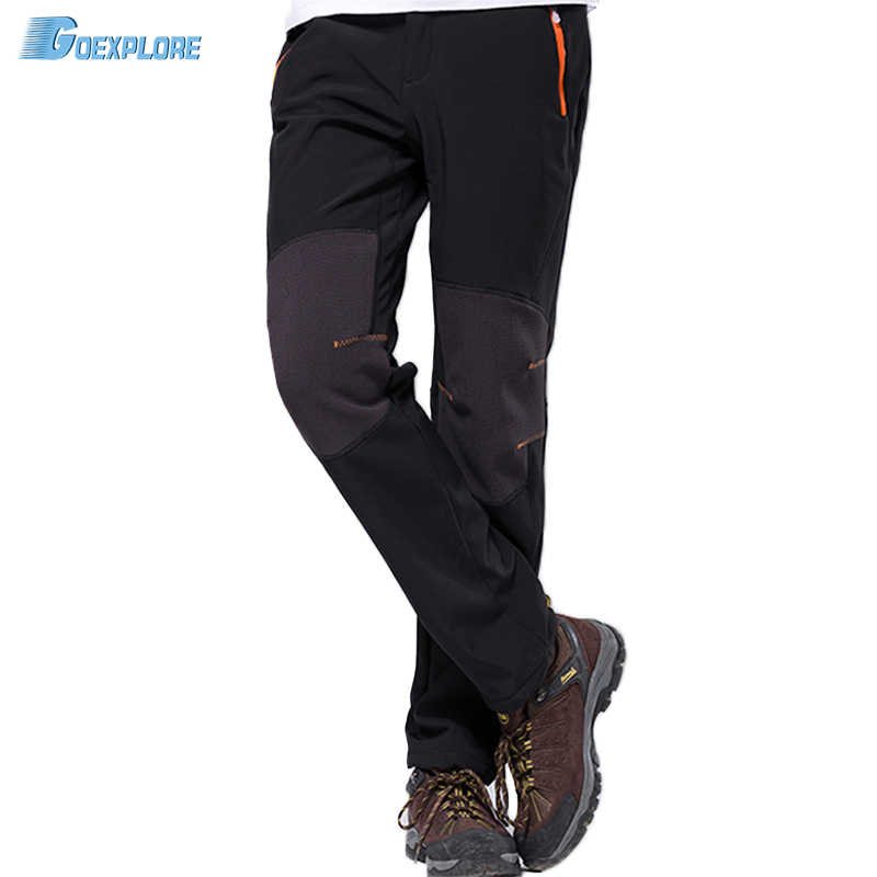 Waterproof outdoor pants men 39 s winter keep warm windstopper windproof mountain hiking climbing - Keep mites away backyard hiking ...