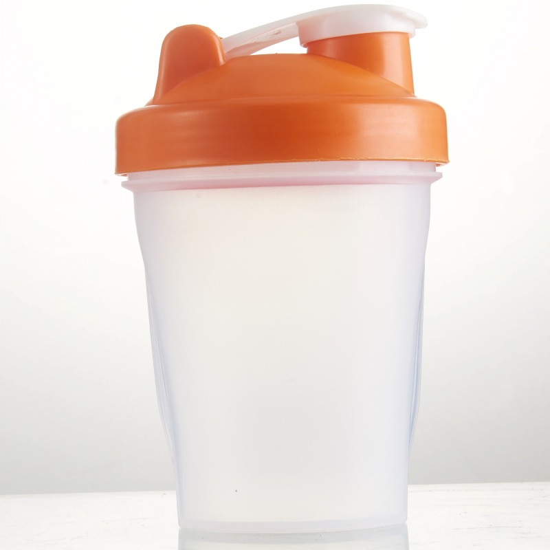 JOUDOO 500ml Shaker Bottle With Leak Proof Lid Stainless Steel Protein Shaker Cup