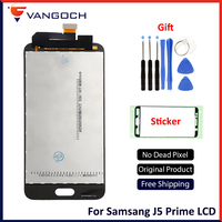 A++Quality For Samsung J5 prime G570 G570F G570K G570L SM G570F OLED TFT Display LCD Touch Screen Digitizer Assembly Replacement